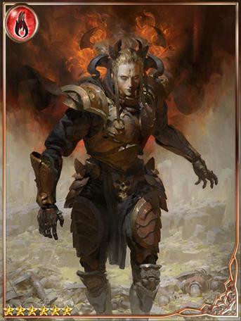 (Wisp) Black Flame Caller Knight