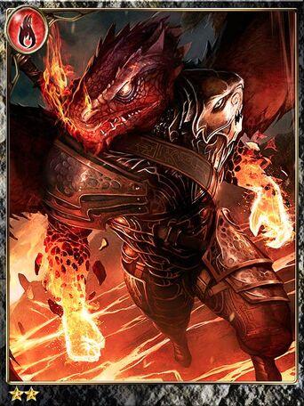 (Fire-Fist) Anxious Blaze Zmeu