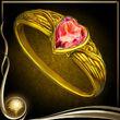 Yellow Heart Ring