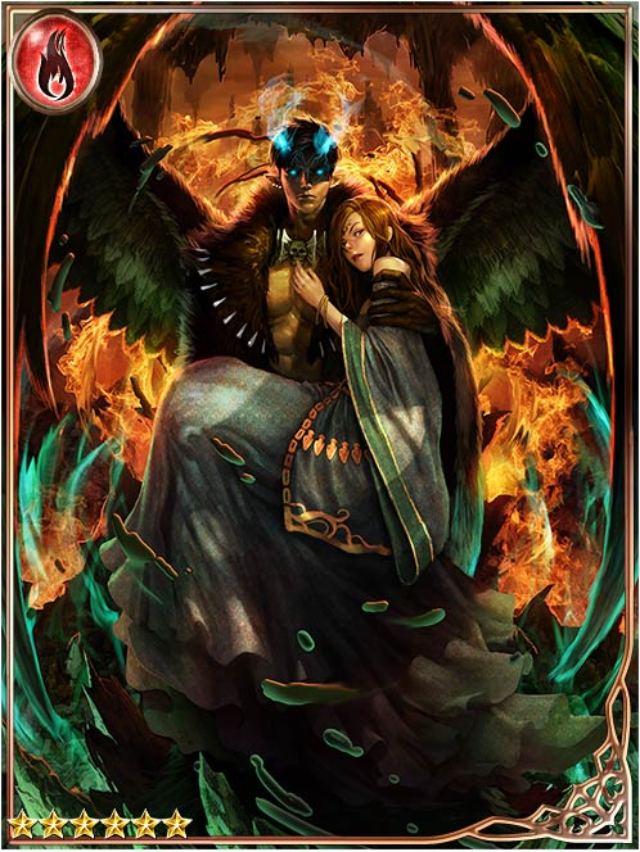 aesthetics love fallen angel leon legend of the
