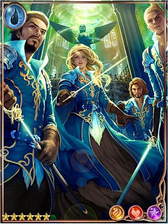 (Duty) Altruistic Azure Musketeers