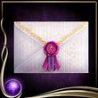 Purple Letter EX