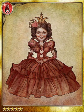 Queen of Hearts Portrait