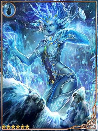 (Congeal) Glacial Goddess Frigitta
