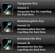 Raid keys