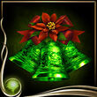 Green Christmas Bells EX