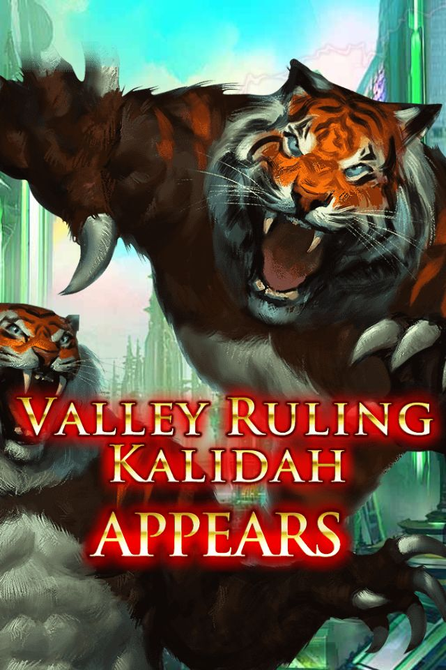 (Obstinate) Valley Ruling Kalidah