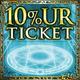10% UR Ticket