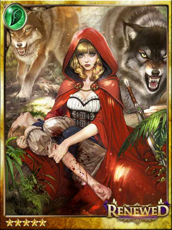 (Trembling) Red Wolf-Riding Hood