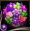Purple Balloon Bouquet EX