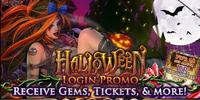 Halloween Login Promo 2015