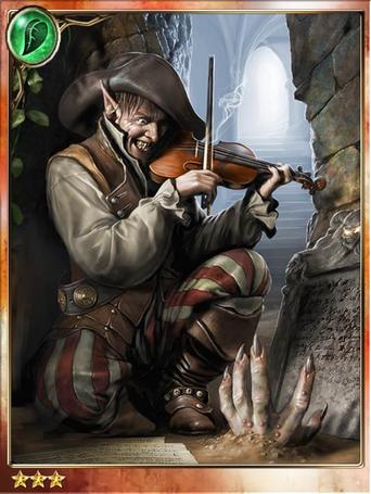 Hideous Violinist Barry