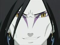 Orochimaru creepy close up