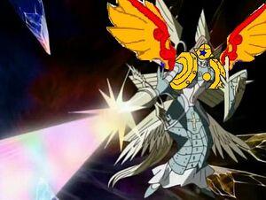 Superophanimon spear attack