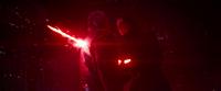 Kylo impales Solo