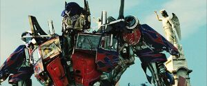 Optimus revenge of the fallen