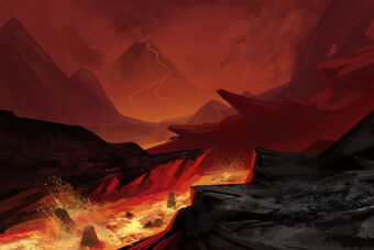 Volcanic landscape by kj a-d57hk2r