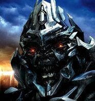 Megatron close up