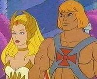 He-man and she-ra look on