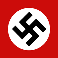 NSDAP Flag - Astrology - Occult History of the Third Reich - Peter Crawford