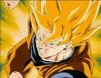 Goku charging