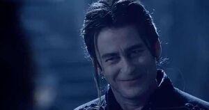 Dracula smile