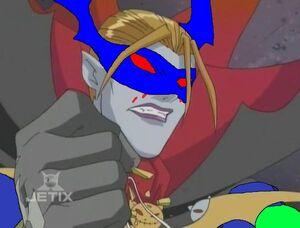 Myotismon angry and sad super
