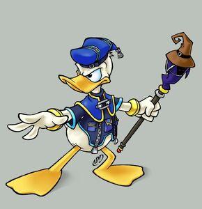 Donald pose