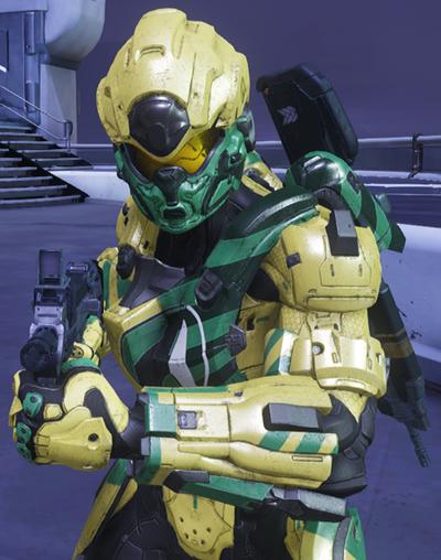 Agent Nevada Halo 5