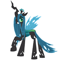 Queen chrysalis by blackm3sh-d4x9ml5