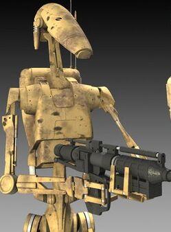 Battle droids by cc 5052k