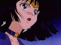 Sailor saturn shocked
