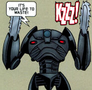 B2 chainsaw droid