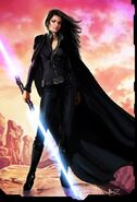 SITH578x850 68SITH66 Female Sith 2d character star wars painting girl woman i fi picture image digital art