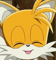 Tails very happy