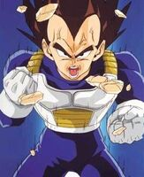 Vegeta power up