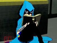 FrostAngel with book