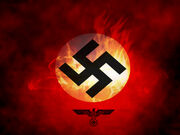 Nazi the rise of new dawn flag by akniazi-d5k5vpo