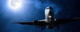 Airplane-at-Night