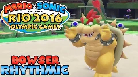 Mario & Sonic at the Rio 2016 Olympic Games (Wii U) - Bowser in Rhythmic Gymnastics