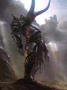 Emissary of darkness adv legend of the cryptids by james face-d65g801
