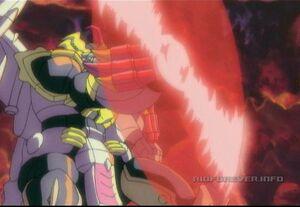 Galvatron dark saber shield