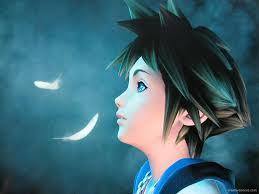Sora looks on