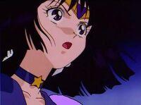 Sailor saturn shocked eternal
