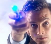 Doctor with sonic screwdriver