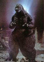 Godzilla full view