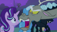 Discord angry they took Fluttershy S6E25