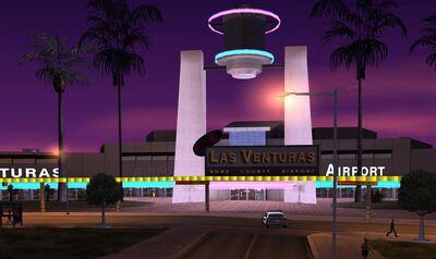 Las Venturas Airport Entrance