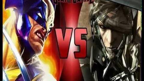 Exo- (Raiden Vs Wolverine)