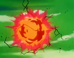 Namek's Destruction - Destroy the Planet!